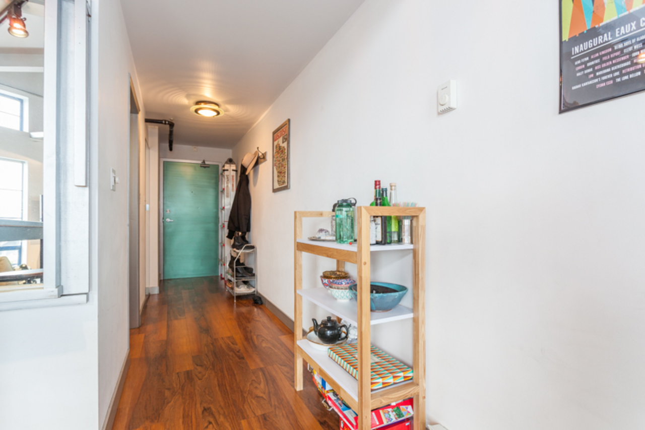 Hallway at 410 - 237 E 4th, Mount Pleasant VE, Vancouver East