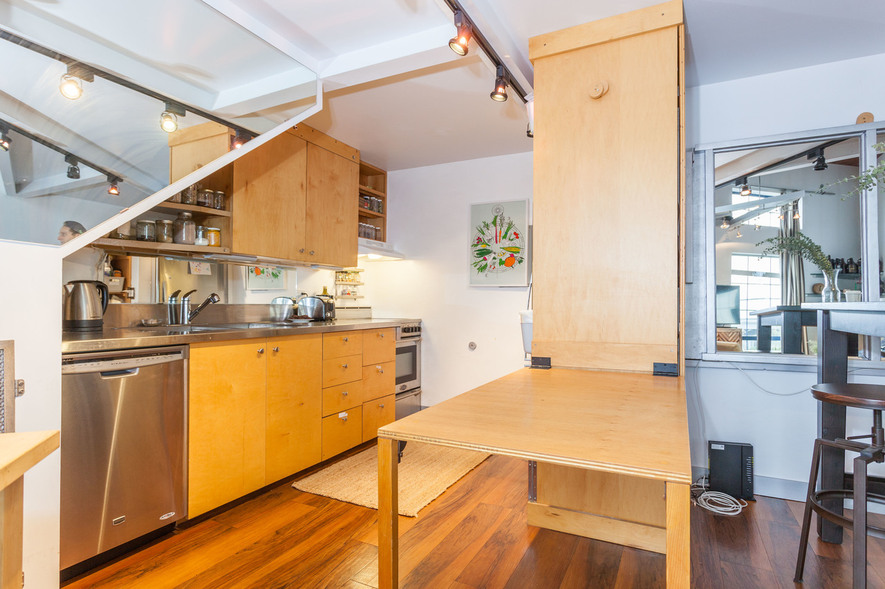 Kitchen-Table at 410 - 237 E 4th, Mount Pleasant VE, Vancouver East