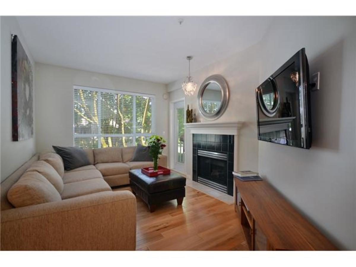 Living room at 309 - 2755 Maple, Kitsilano, Vancouver West