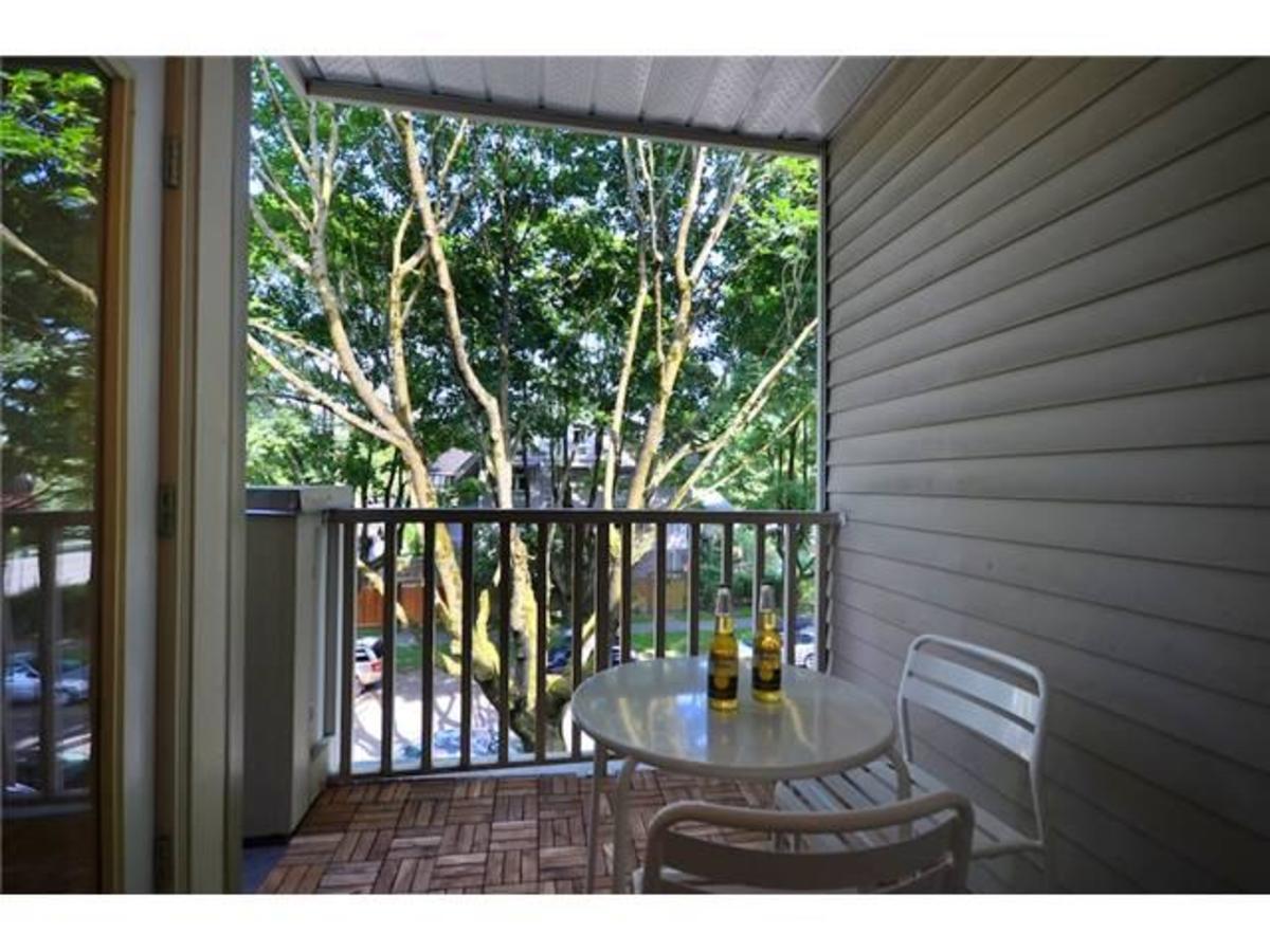 Tranquil Balcony at 309 - 2755 Maple, Kitsilano, Vancouver West