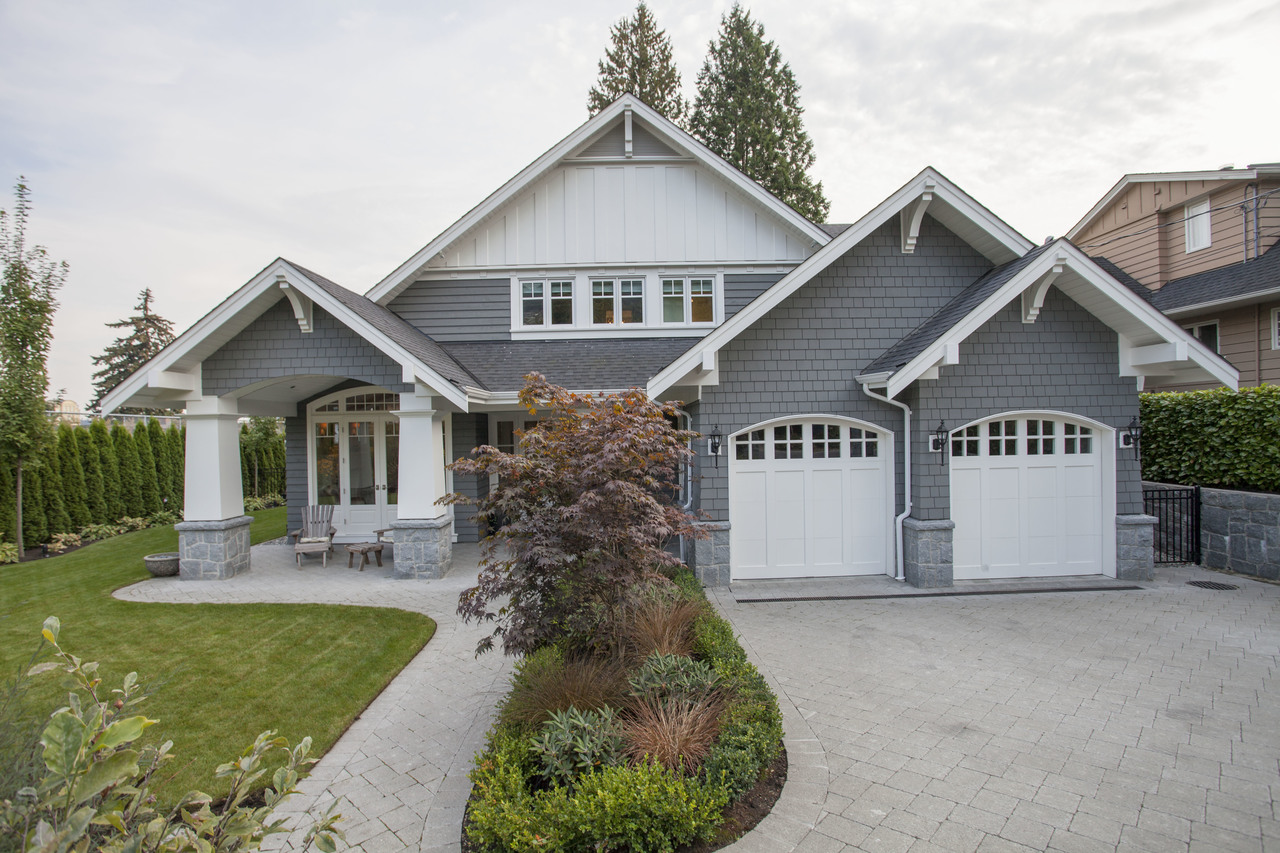 front exterior at 2478 Kings, Dundarave, West Vancouver