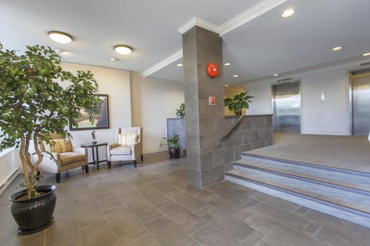 Lobby2 at 402 - 1485 Duchess, Ambleside, West Vancouver