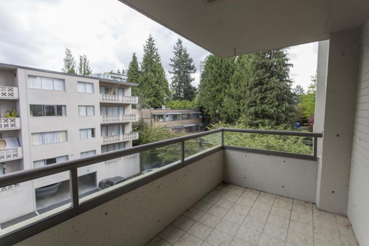 MasterBalcony2 at 402 - 1485 Duchess, Ambleside, West Vancouver