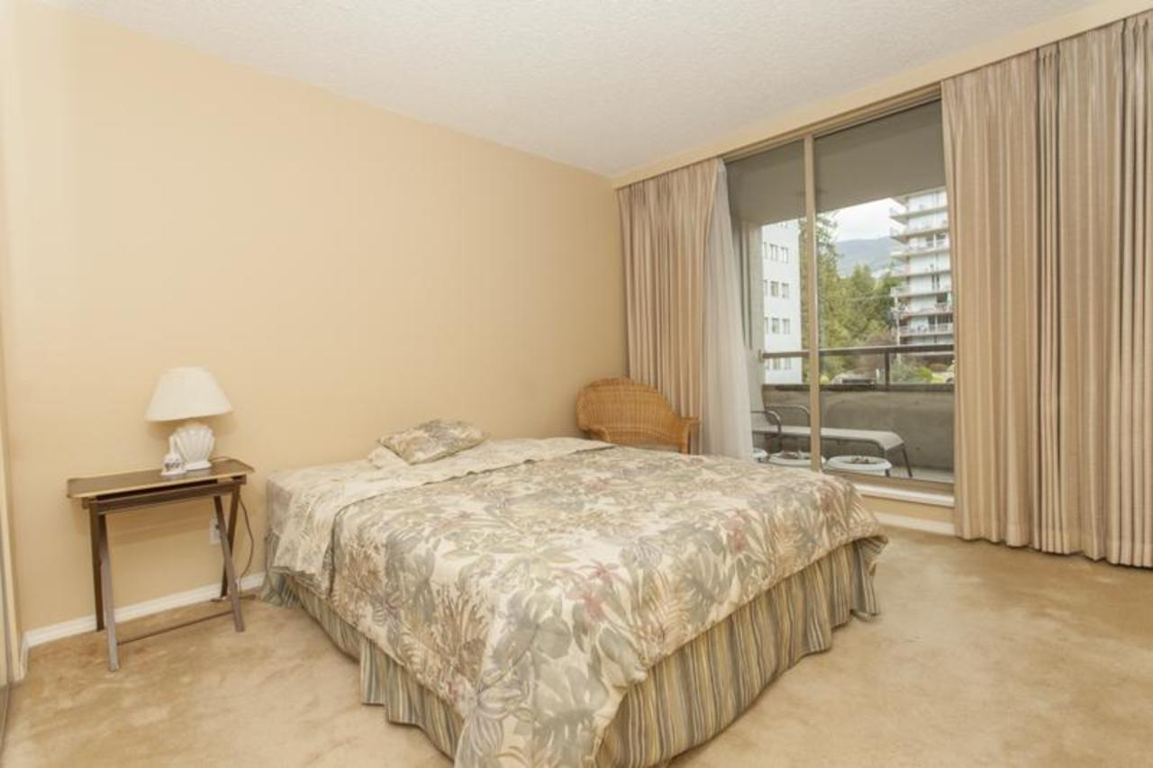 MasterBed at 402 - 1485 Duchess, Ambleside, West Vancouver