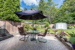 Patio at 12220 234 Street, East Central, Maple Ridge