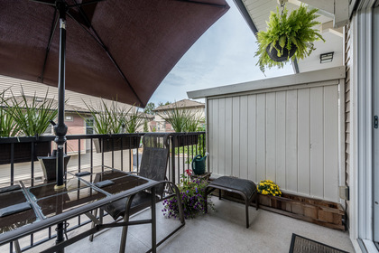 Back Deck at 25 - 10151 240 Street, Albion, Maple Ridge
