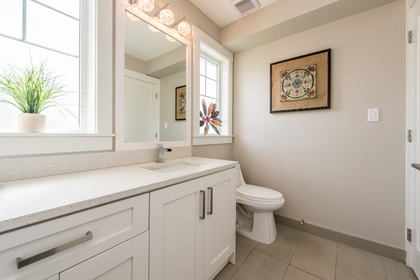Bathroom at 25 - 10151 240 Street, Albion, Maple Ridge