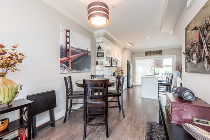 Dining Room at 25 - 10151 240 Street, Albion, Maple Ridge