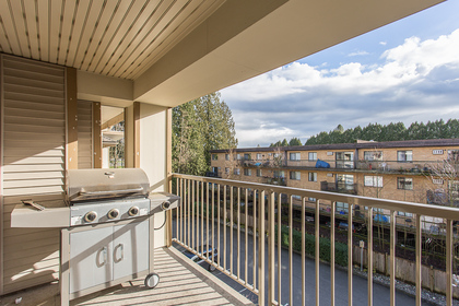 Balcony at 418 - 12248 224 Street, East Central, Maple Ridge