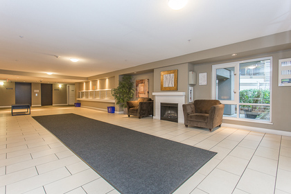 Building Lobby at 418 - 12248 224 Street, East Central, Maple Ridge