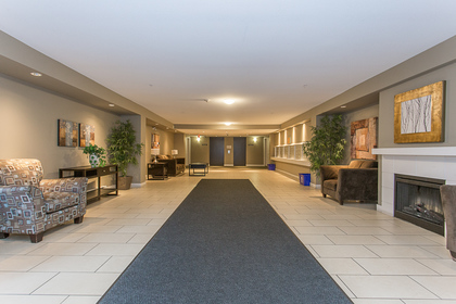 Lobby at 418 - 12248 224 Street, East Central, Maple Ridge