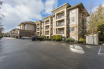 Outside of complex at 418 - 12248 224 Street, East Central, Maple Ridge