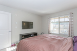 Master Bedroom at 418 - 12248 224 Street, East Central, Maple Ridge
