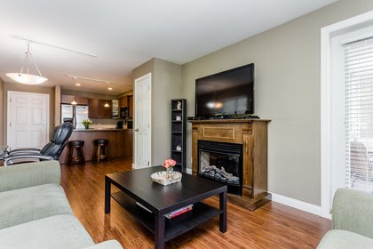 Living Room at 307 - 5454 198 Street, Langley City, Langley
