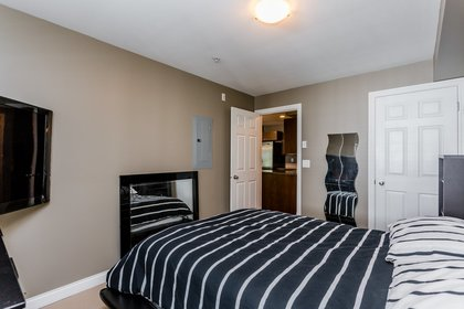 Master Bedroom at 307 - 5454 198 Street, Langley City, Langley