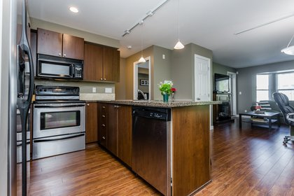 Kitchen at 307 - 5454 198 Street, Langley City, Langley