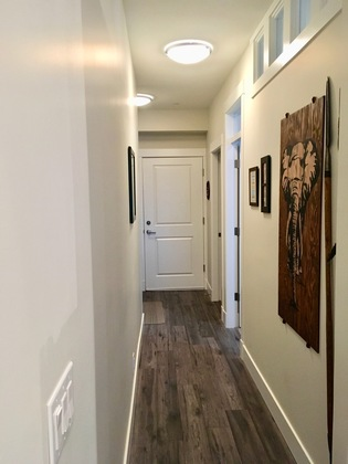 11-hallway at #105 - 22327 River Road, Maple Ridge