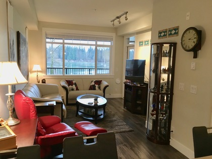 14-living-room at #105 - 22327 River Road, Maple Ridge