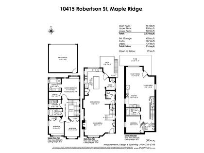 floorplan_mls at 10415 Robertson Street, Albion, Maple Ridge