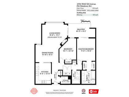 floorplan_mls at #314 - 19142 122 Avenue, Pitt Meadows
