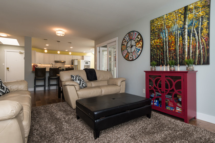 Living Room at 506 - 1225 Merklin Street, White Rock,