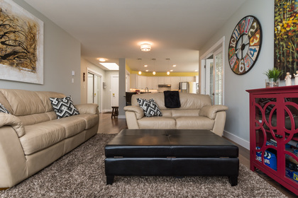 Lovely Living Room at 506 - 1225 Merklin Street, White Rock,