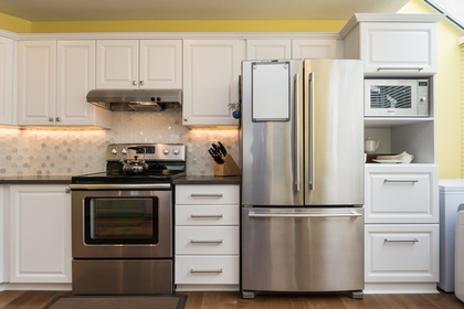 Kitchen Storage at 506 - 1225 Merklin Street, White Rock Rock,