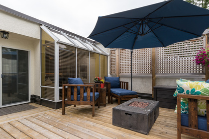 Outdoor Living at 506 - 1225 Merklin Street, White Rock Rock,