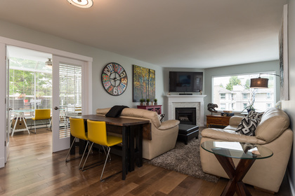 Living Room and Den at 506 - 1225 Merklin Street, White Rock,