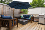 Huge Balcony at 506 - 1225 Merklin Street, White Rock Rock,
