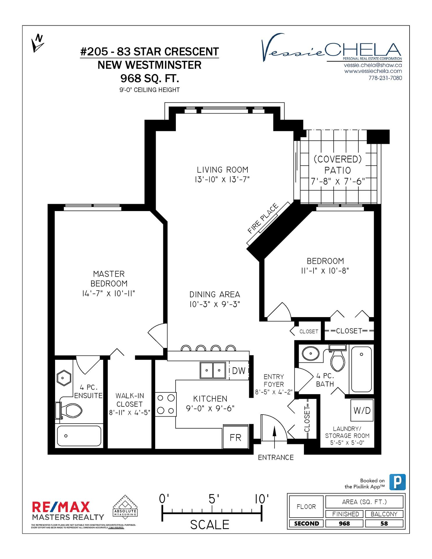 153508-1 at 205 - 83 Star Crescent, Queensborough, New Westminster