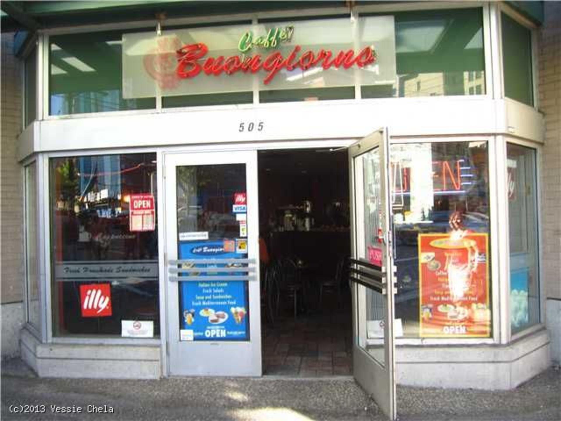 Entrance at 505 Pender Street, Vancouver West