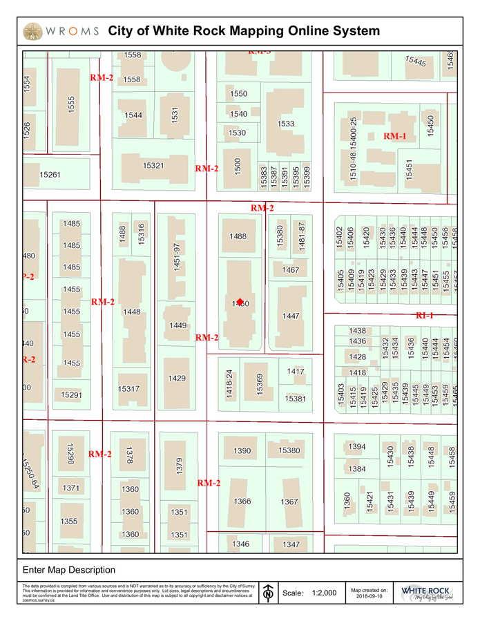 legal-map-1 at 212 - 1450 Merklin Street, White Rock, South Surrey White Rock