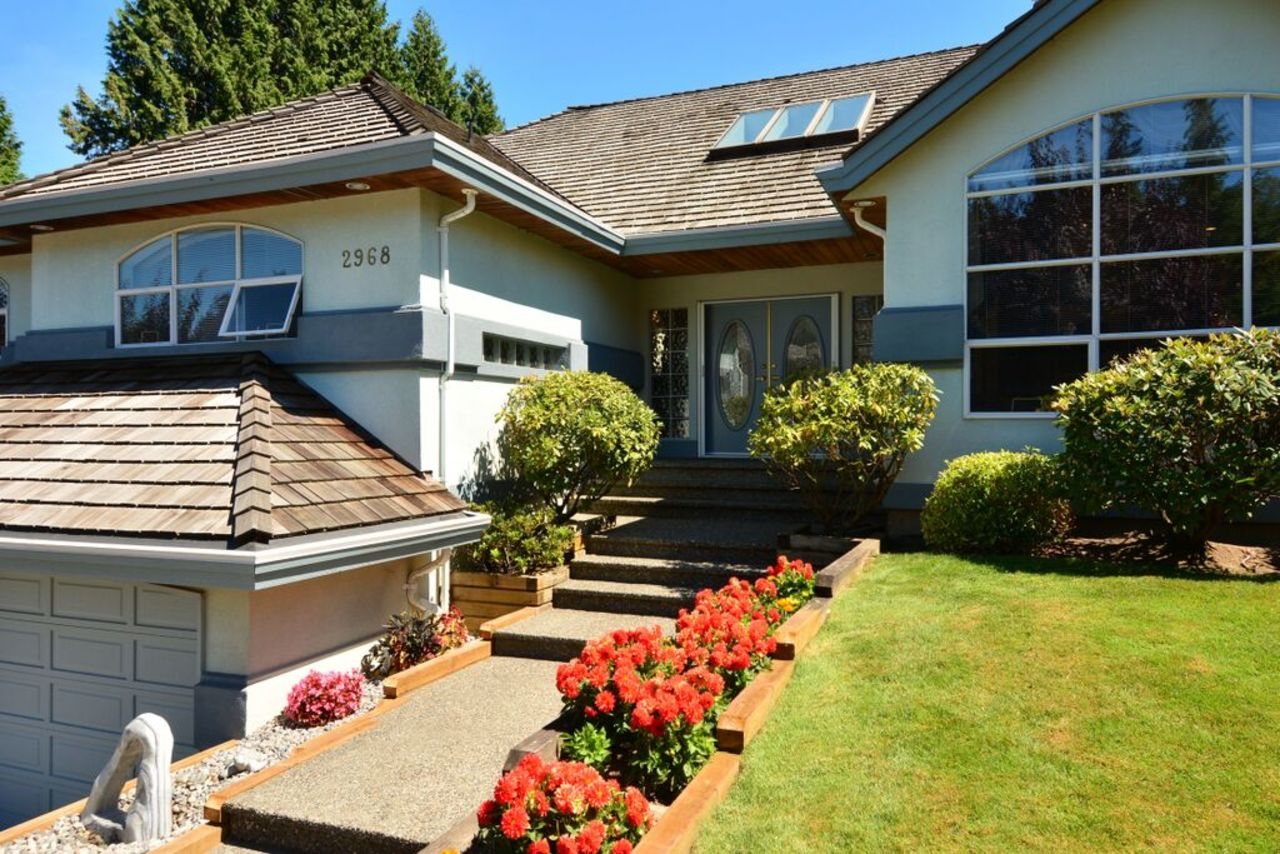 front door at 2968 Northcrest Drive, Elgin Chantrell, South Surrey White Rock
