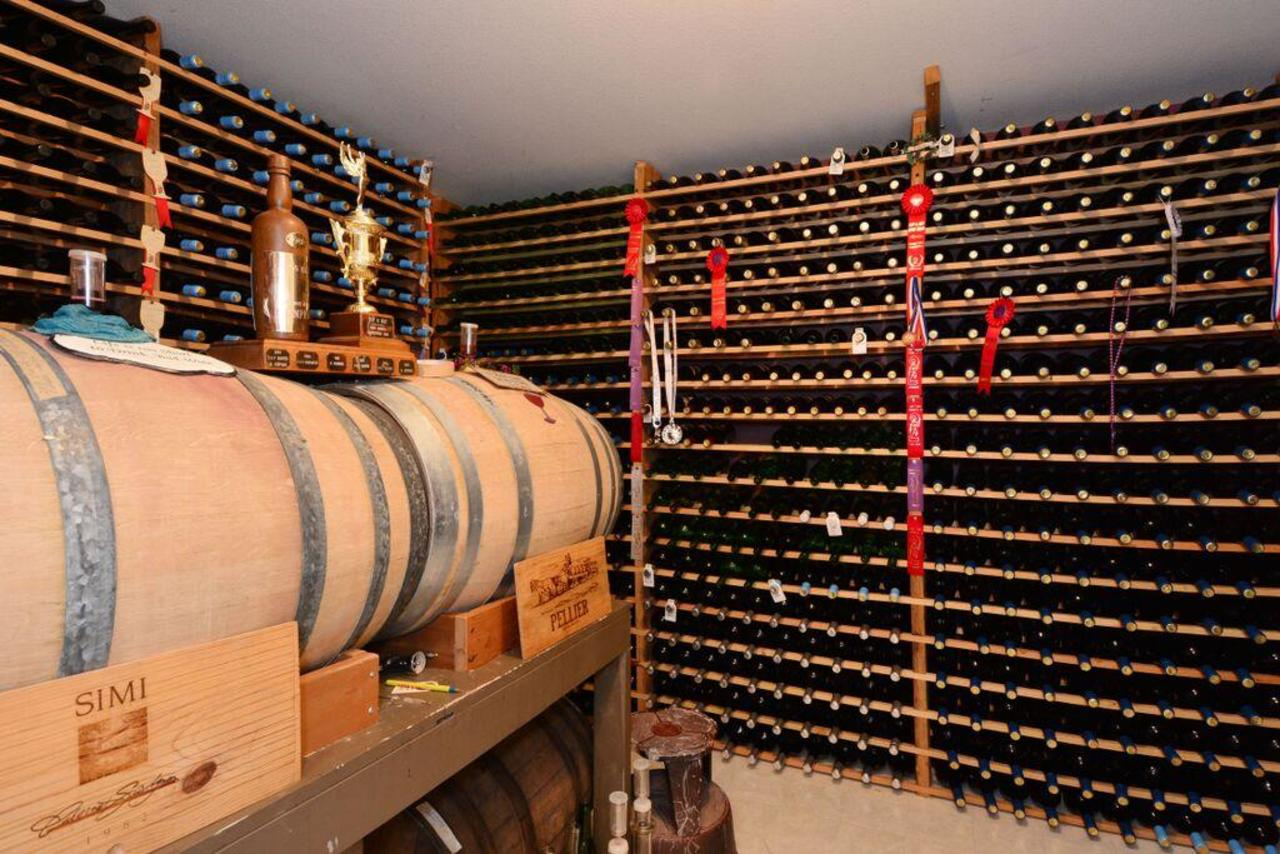 wine room at 2968 Northcrest Drive, Elgin Chantrell, South Surrey White Rock