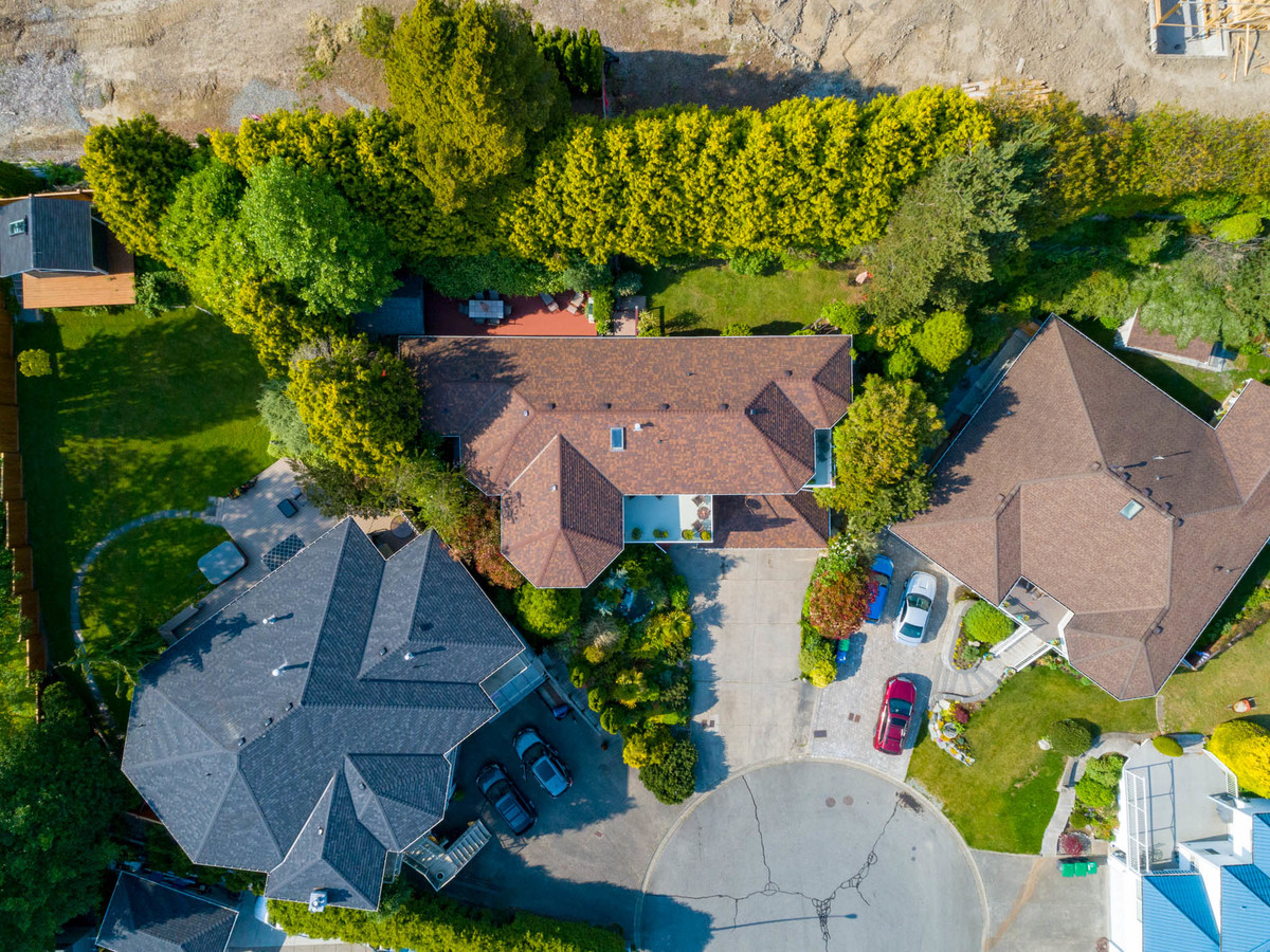 aerial2 at 16055 8 Avenue, King George Corridor, South Surrey White Rock
