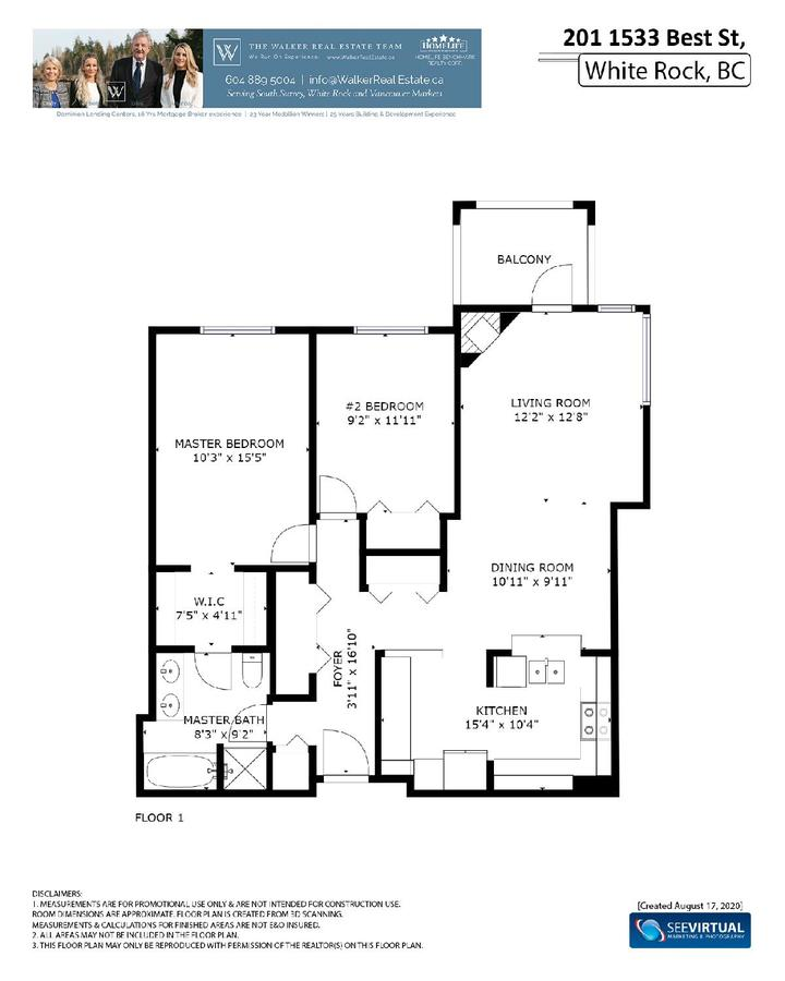 floor-plan-page-001-1 at 201 - 1533 Best Street, White Rock, South Surrey White Rock