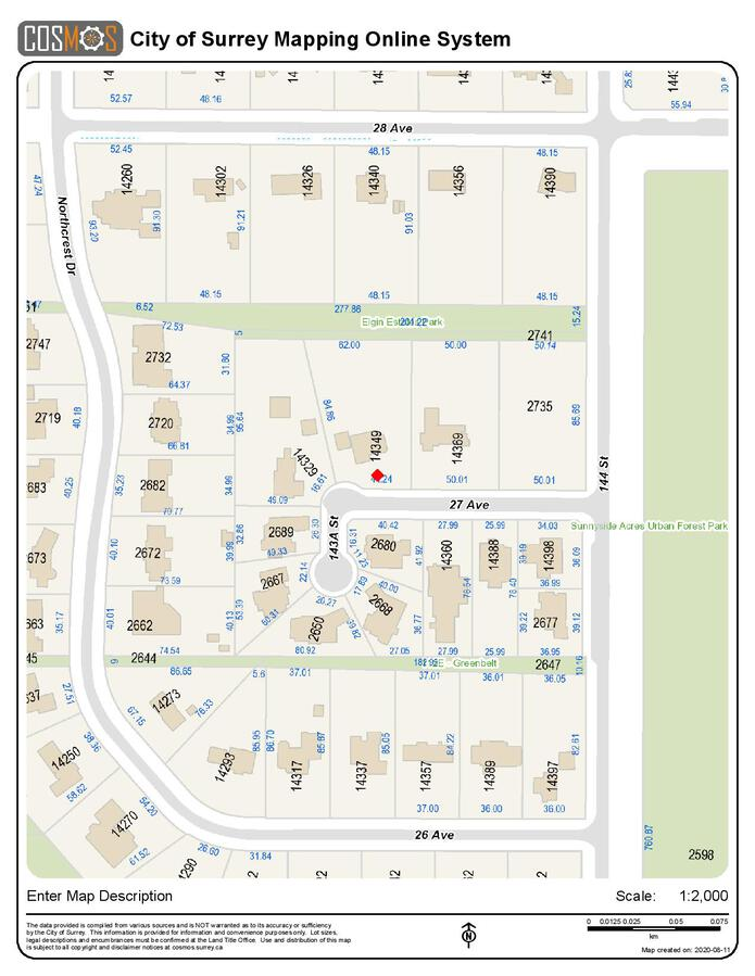 legal-map-page-001 at 14349 27 Avenue, Sunnyside Park Surrey, South Surrey White Rock