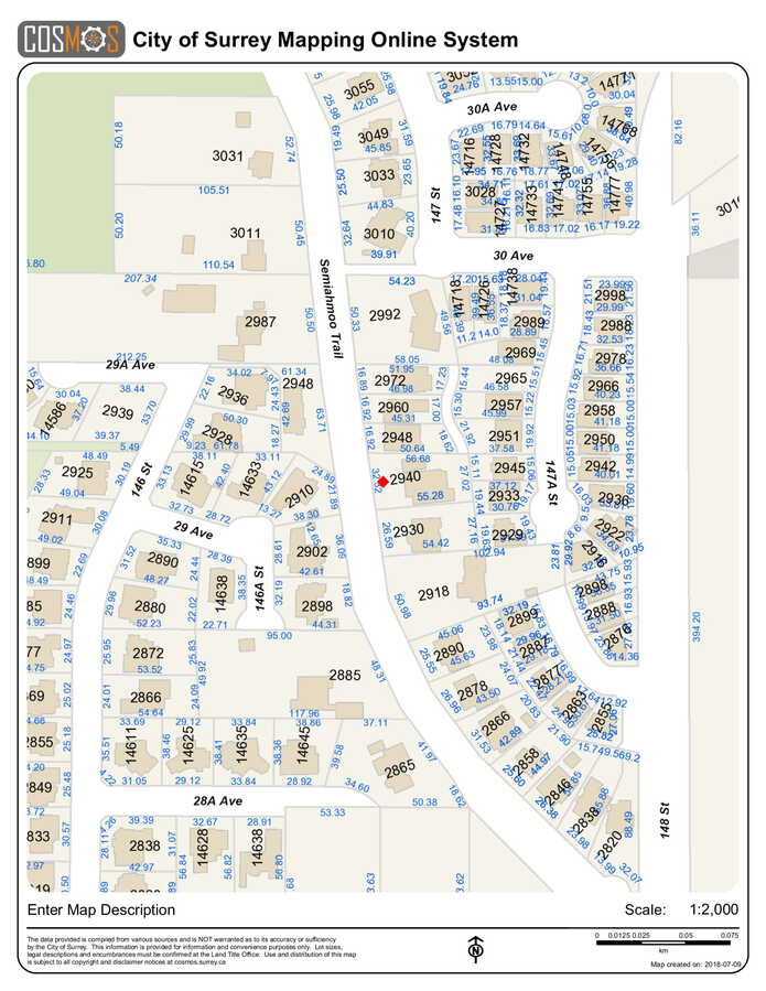 legal-map-1 at 2940 Semiahmoo Trail, Elgin Chantrell, South Surrey White Rock