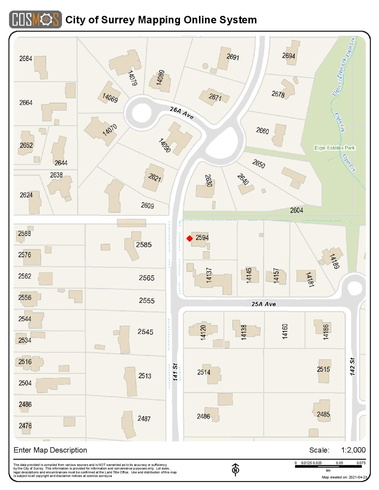 greenough-legal-map-page-001 at 2594 141 Street, Sunnyside Park Surrey, South Surrey White Rock