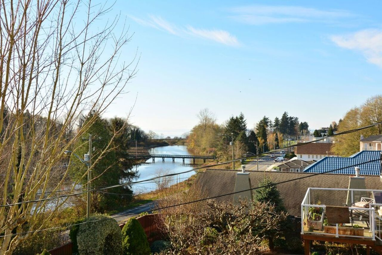 River and ocean views at  16097 8 Avenue, South Surrey White Rock