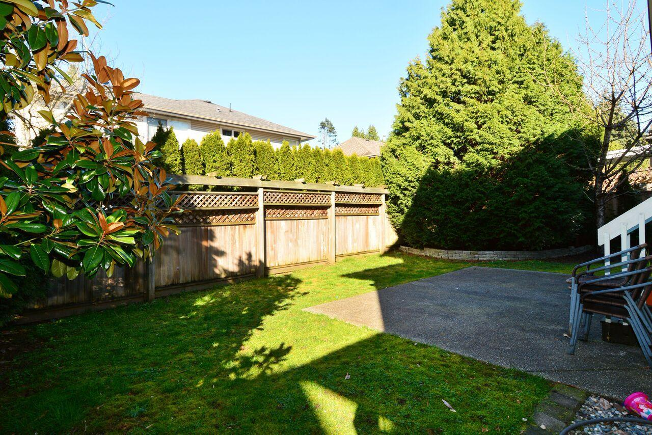 backyard2 at 12747 24 Avenue, Crescent Bch Ocean Pk., South Surrey White Rock