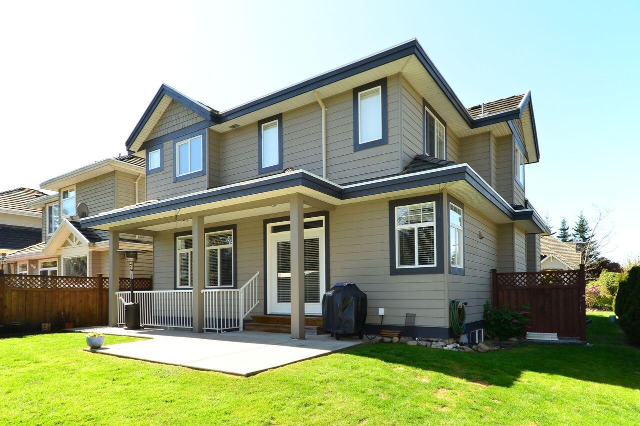back-of-home at 3598 Rosemary Heights Crescent, Morgan Creek, South Surrey White Rock