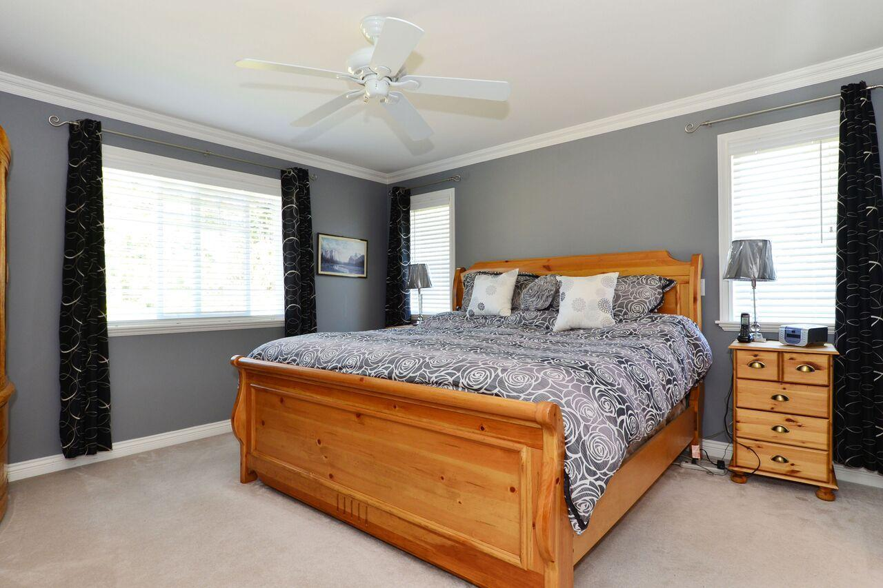 master-bedroom at 3598 Rosemary Heights Crescent, Morgan Creek, South Surrey White Rock