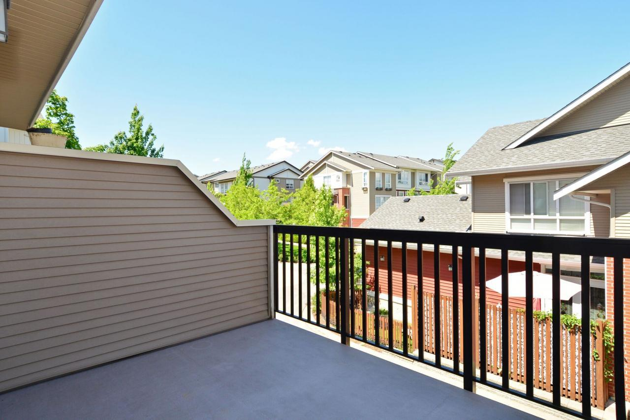 deck at 6 - 19505 68a Avenue, Clayton, Cloverdale