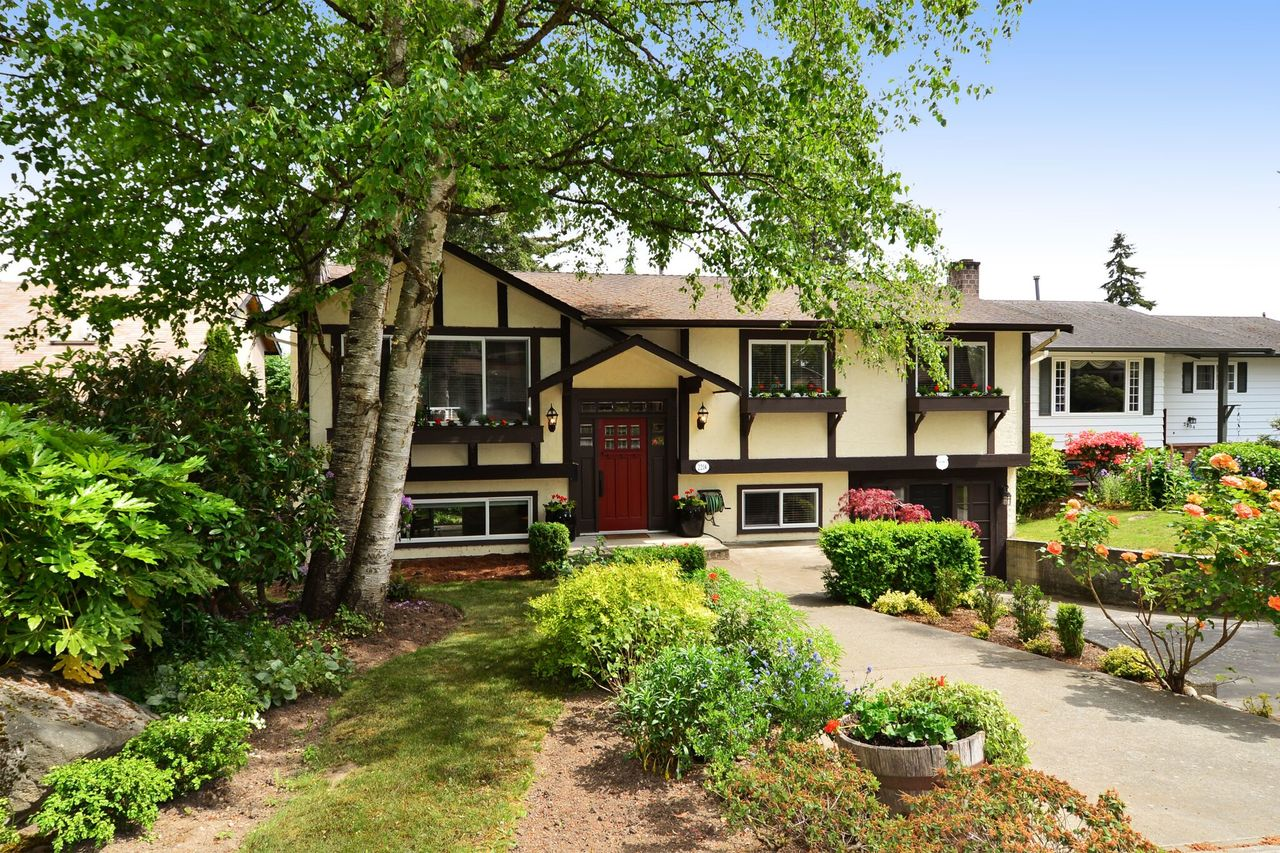 front at 2214 153a Street, King George Corridor, South Surrey White Rock