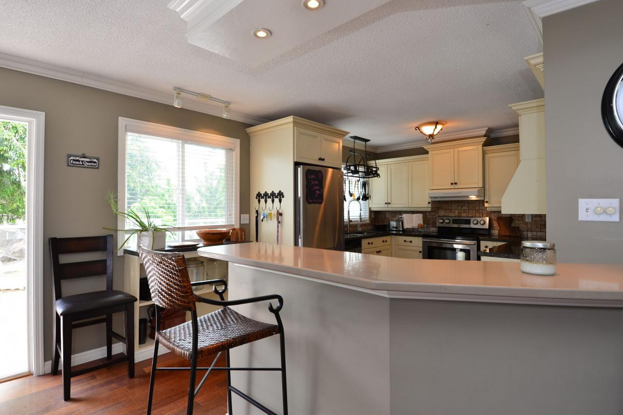 kitchen at 2214 153a Street, King George Corridor, South Surrey White Rock