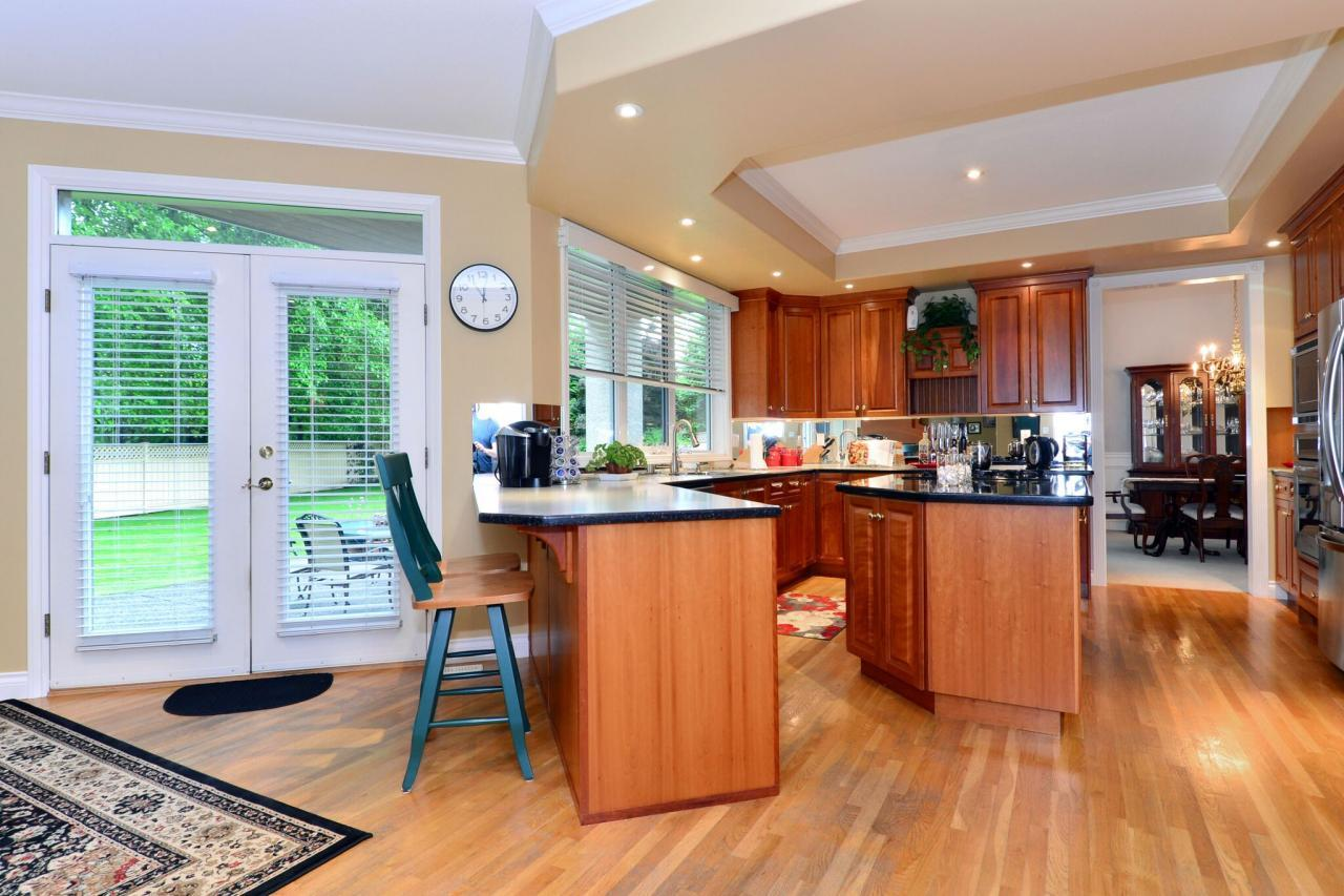 kitchen at 13638 23 Avenue,