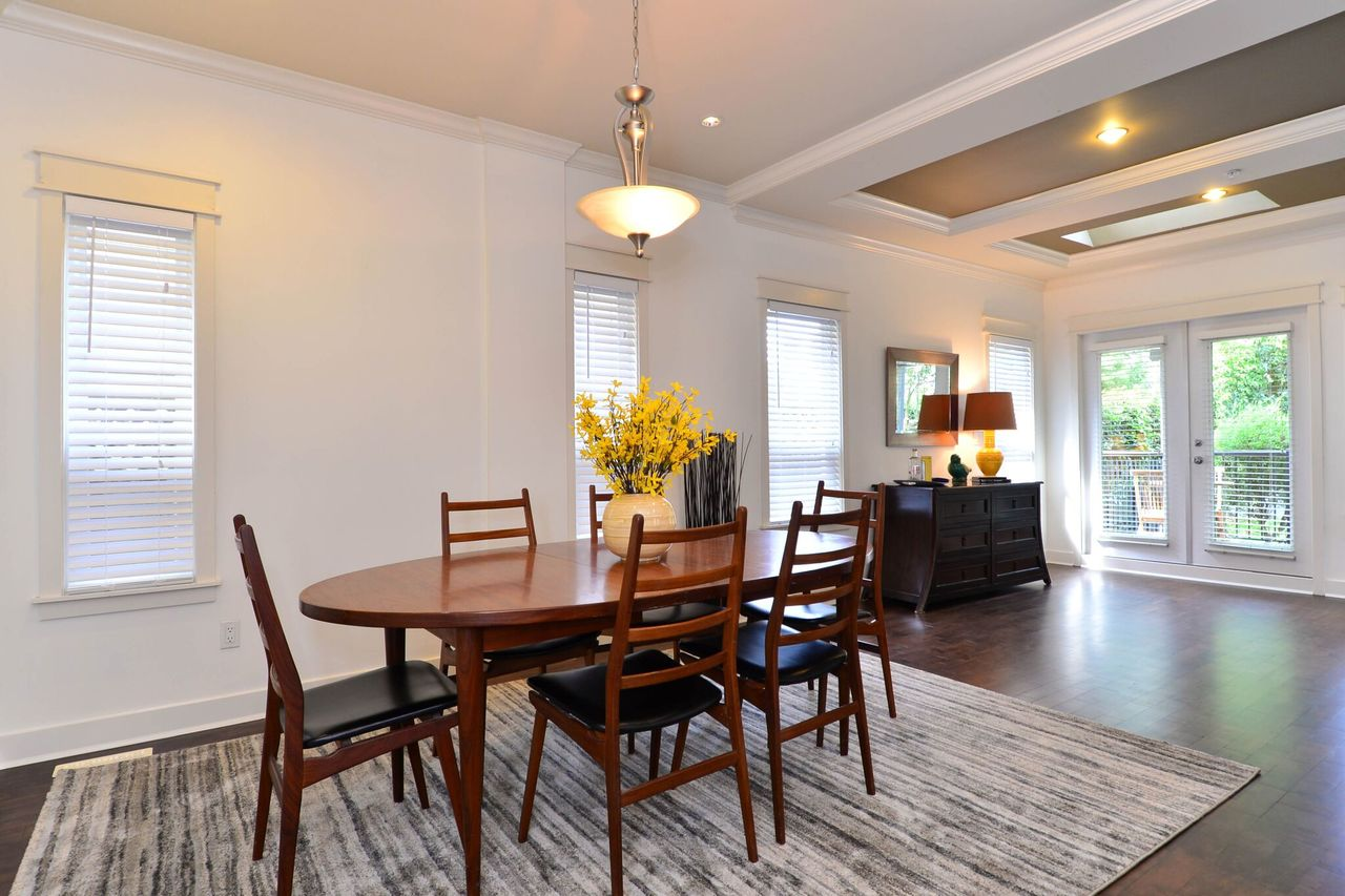 dining-room at 15573 Goggs Avenue, White Rock, South Surrey White Rock