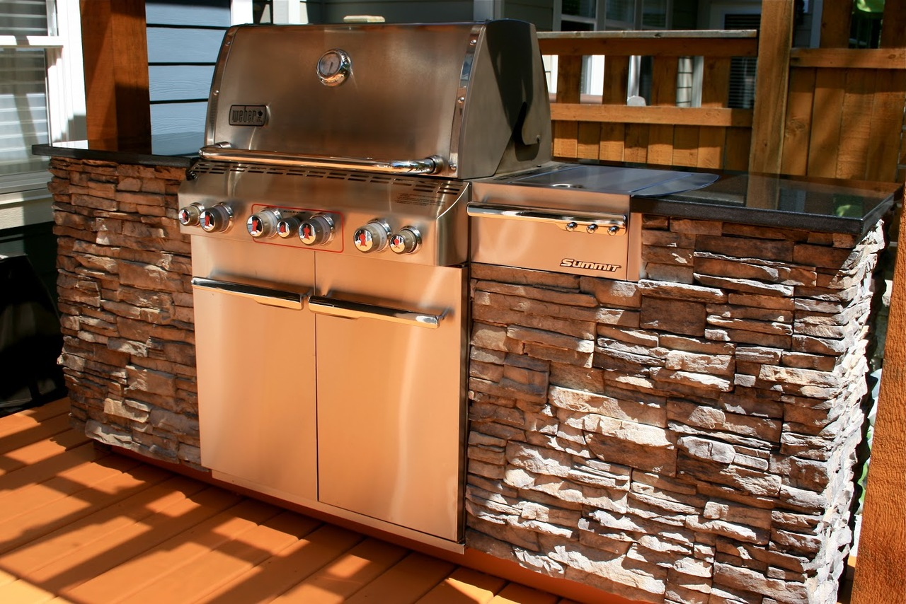 backyard-bbq at 14278 36a Avenue, Elgin Chantrell, South Surrey White Rock